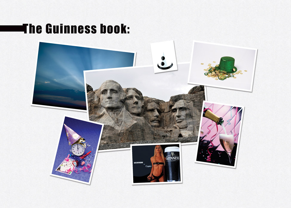 Photos d'origine - The Guinness book